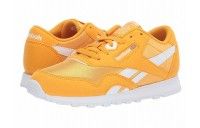 Reebok Kids Classic Nylon MU (Big Kid) Gold/White - SALE