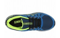 ASICS Kids GEL-Venture 7 (Little Kid/Big Kid) Black/Safety Yellow - SALE