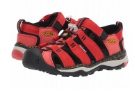 Keen Kids Newport Neo H2 (Little Kid/Big Kid) Fiery Red/Golden Rod