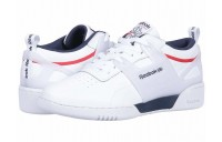 Reebok Lifestyle Workout ULS L White/Collegiate Navy/Primal Red - SALE