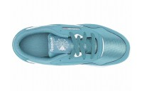 Reebok Kids Classic Nylon MU (Little Kid) Mineral Mist/White - SALE
