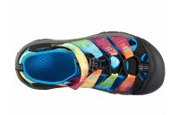 Keen Kids Newport H2 (Little Kid/Big Kid) Rainbow Tie-Dye