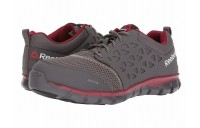 Reebok Work Sublite Cushion Work EH Grey/Red Synthetic - SALE