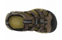 Keen Kids Seacamp II CNX (Toddler/Little Kid) Dark Olive/Black