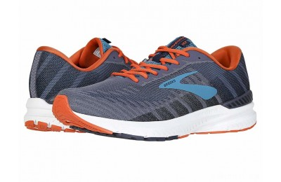 Brooks Ravenna 10 Ebony/Navy/Mandarin - SALE