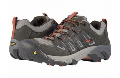 Keen Utility Boulder Low Steel Toe Raven/Burnt Ochre