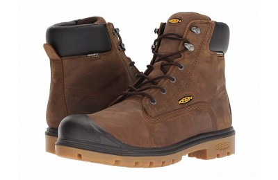 "Keen Utility Baltimore 6"" Steel Toe 600 Grams Waterproof Cascade Brown"