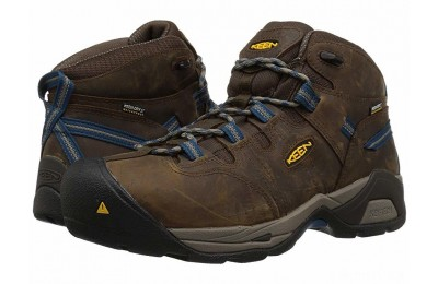 Keen Utility Detroit XT Mid Steel Toe Waterproof Cascade Brown/Orion Blue