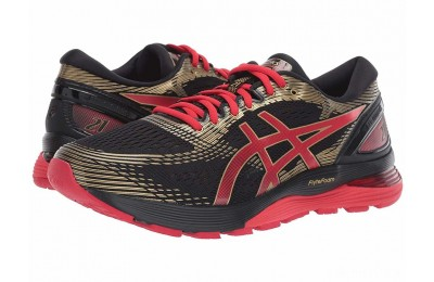 ASICS GEL-Nimbus® 21 Black/Classic Red 2 - SALE