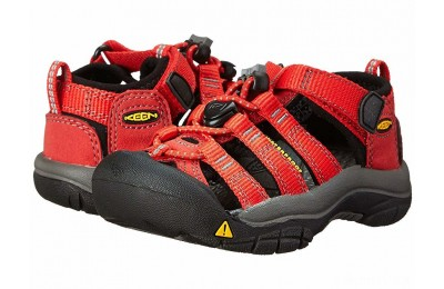 Keen Kids Newport H2 (Toddler/Little Kid) Ribbon Red/Gargoyle
