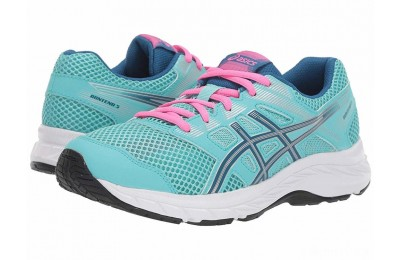 ASICS Kids Gel-Contend 5 (Big Kid) Ice Mint/Deep Sapphire - SALE