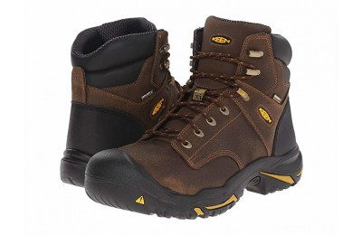 Keen Utility MT Vernon Mid Soft Toe Cascade Brown