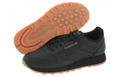 Reebok Lifestyle Classic Leather Black/Gum - SALE