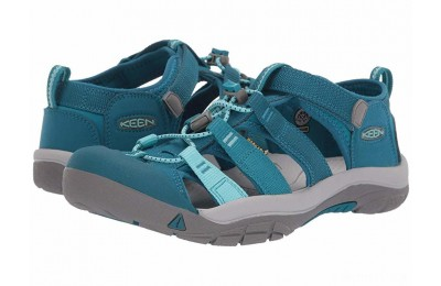 Keen Kids Newport H2 (Little Kid/Big Kid) Deep Lagoon/Tahitian Tide