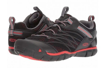 Keen Kids Chandler CNX (Little Kid/Big Kid) Raven/Fiery Red