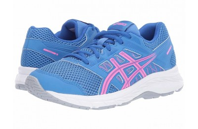 ASICS Kids Gel-Contend 5 GS (Big Kid) Blue Coast/Hot - SALE