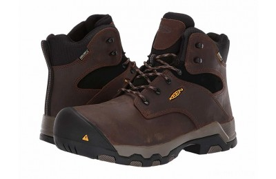 "Keen Utility Rockford 6"" Composite Toe WP Cascade Brown/Black"