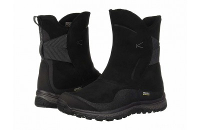 Keen Winterterra Leather WP Boot Black/Raven