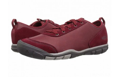 Keen Hush Leather Bike Red