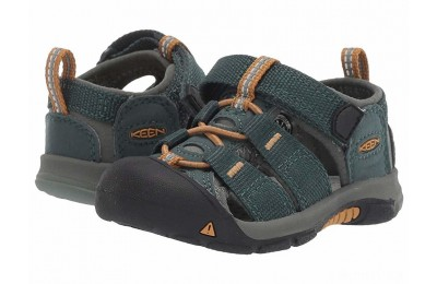 Keen Kids Newport H2 (Toddler) Green Gables/Wood Thrush