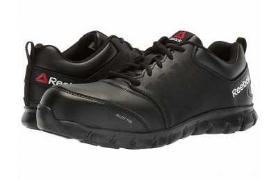 Reebok Work Sublite Cushion Work EH Black Leather - SALE