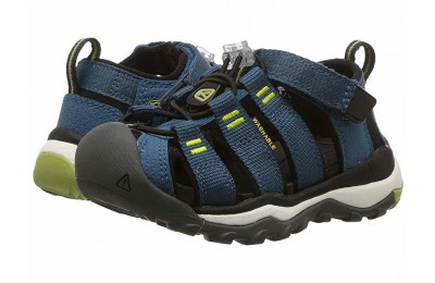 Keen Kids Newport Neo H2 (Toddler/Little Kid) Legion Blue/Moss