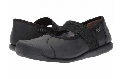 Keen Sienna MJ Leather Monochrome Black