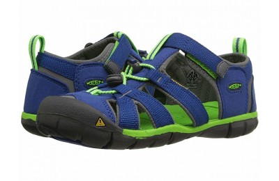 Keen Kids Seacamp II CNX (Little Kid/Big Kid) Blue/Jasmine Green