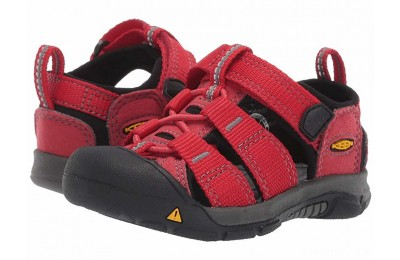 Keen Kids Newport H2 (Toddler) Ribbon Red/Gargoyle 1