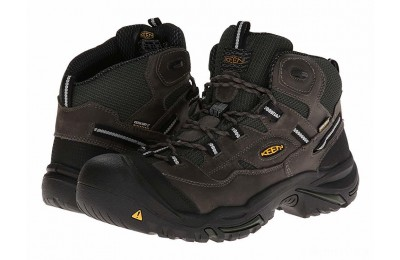 Keen Utility Braddock Mid WP Gargoyle/Forest Night