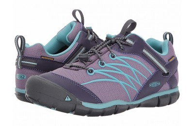 Keen Kids Chandler CNX WP (Little Kid/Big Kid) Montana Grape/Aqua Haze