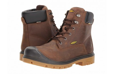 "Keen Utility Baltimore 6"" WP Steel Toe Brown"