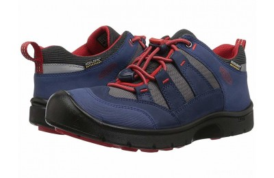 Keen Kids Hikeport WP (Little Kid/Big Kid) Dress Blues/Fiery Red