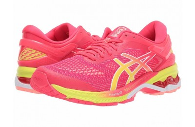 ASICS GEL-Kayano® 26 Pink/Sour Yuzu - SALE