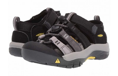 Keen Kids Newport H2 (Toddler/Little Kid) Black/Magnet