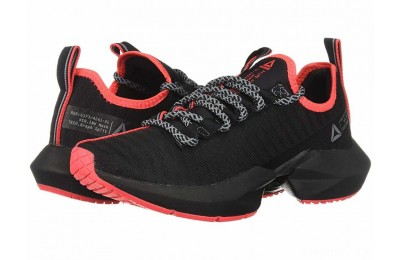 Reebok Sole Fury SE Black/Cold Grey/Neon Red - SALE