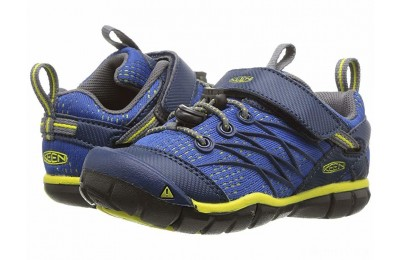 Keen Kids Chandler CNX (Toddler/Little Kid) Blue Opal/Baleine