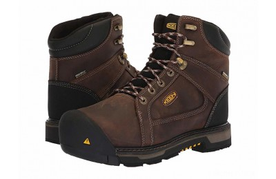 Keen Utility Oakland Steel Toe Waterproof Chestnut/Black