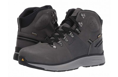 "Keen Utility Manchester 6"" Aluminum Toe WP Forged Iron/Black"