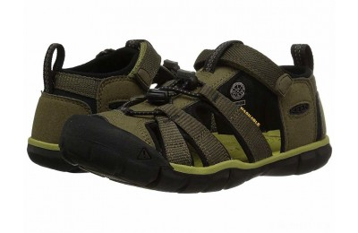 Keen Kids Seacamp II CNX (Little Kid/Big Kid) Dark Olive/Black