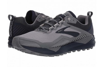Brooks Cascadia 14 Grey/Navy - SALE