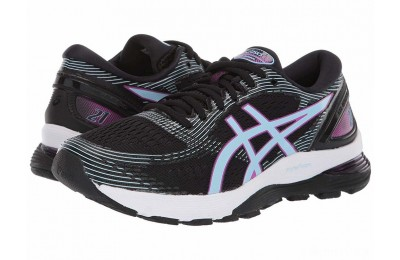 ASICS GEL-Nimbus® 21 Black/Skylight - SALE