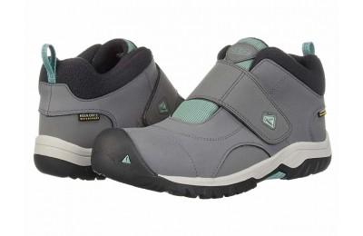 Keen Kids Kootenay II WP (Little Kid/Big Kid) Steel Grey/Wasabi