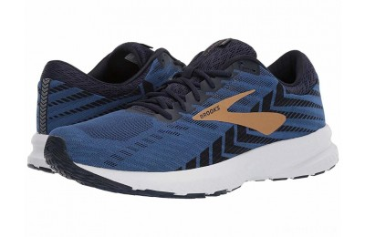 Brooks Launch 6 Peacoat/Blue/Gold - SALE
