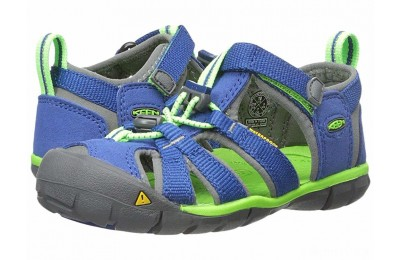Keen Kids Seacamp II CNX (Toddler/Little Kid) Blue/Jasmine Green