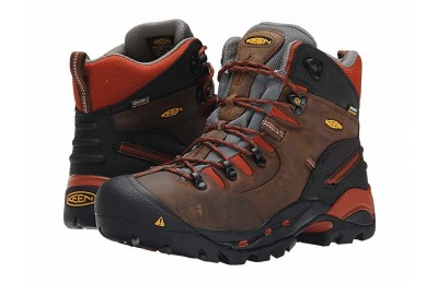 Keen Utility Pittsburgh Soft Toe Cascade Brown/Bombay Brown