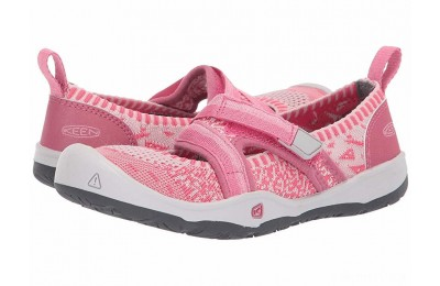Keen Kids Moxie Sport MJ (Little Kid/Big Kid) Rapture Rose/Powder Pink