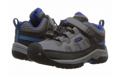 Keen Kids Targhee Low (Toddler/Little Kid) Steel Grey/Baleine