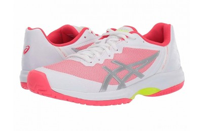 ASICS Gel-Court Speed White/Laser Pink - SALE