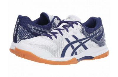 ASICS GEL-Rocket® 9 White/Dive Blue - SALE